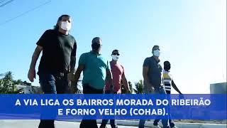 AVENIDA RETIRO DOS ANANÁS REVITALIZADA