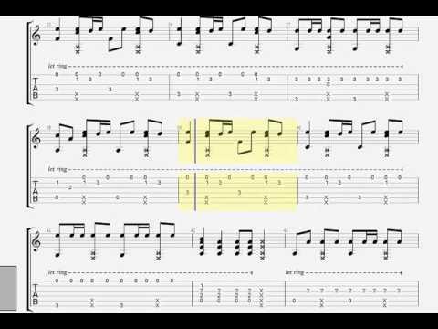 Cơn Mưa Ngang Qua ( Sơn Tùng M-TP ) - TAB Guitar Mitxi Tòng