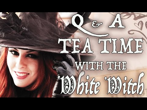 Ep. 1 - Q & A with The White Witch Parlour ( Born A Witch? Shielding Energy, Religion )