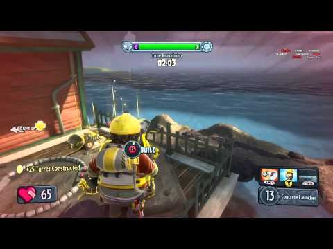 Plants vs. Zombies Garden Warfare - Gardens and Graveyards Mode