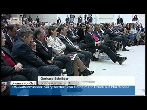 Buchpräsentation - Gerhard Schröder: KLARE WORTE am 14.02.2014