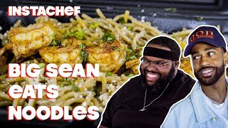Big Sean Discovers His Love of Seafood in LA || InstaChef