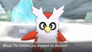 Pokemon X And Y Part 51 Catching Delibird