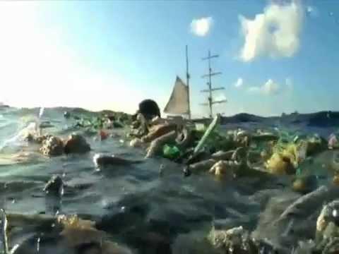 La Isla de la Basura en el Oceáno Pacífico
