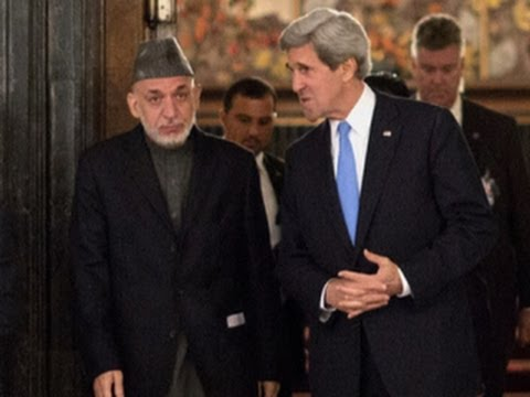 Kerry makes unannounced visit to Afghanistan