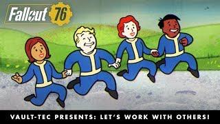 Fallout 76 - Let's Work with Others! Többjátékos Mód Videó