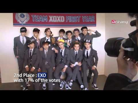 Showbiz Korea - TOP 5 MOST BELOVED BOY GROUPS 보이그룹 인기 랭킹 ? 슈퍼주니어, 엑소, 샤이니, 빅뱅, 동방신기