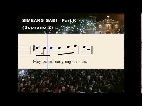 Q31a Simbang Gabi - Part K (Soprano 2)