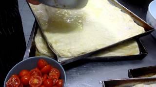 Come Fare La Focaccia Pizza Genovese : Ricette Dolci E