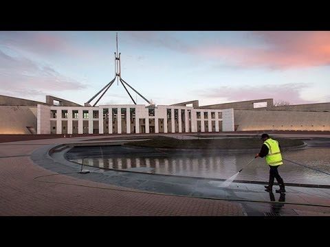 The people behind Parliament House, Canberra