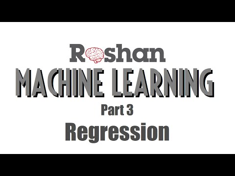 Machine Learning 3 - Regression