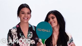 """Kendall and Kylie Jenner Play """"Which Sister"""" With Glamour Magazine"""