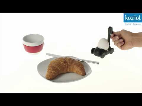 Koziol Buggy Egg Cooker & Egg Cup