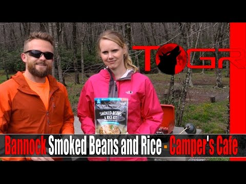 Bannock Smoked Beans and Rice - Camper's Cafe