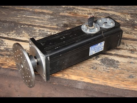 Servo Motor Generator Project Wind Turbine Lawn Mower