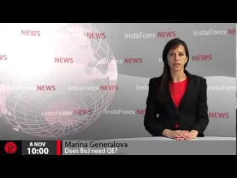 InstaForex News 8 November. Does Bank of Japan need quantitative easing program
