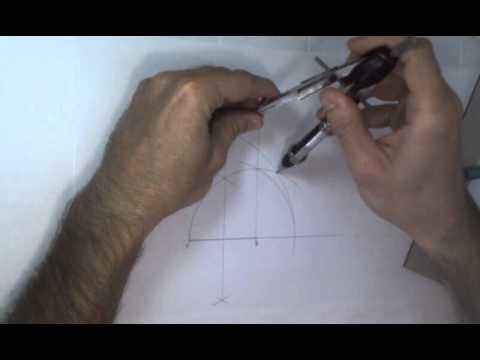 Como dibujar un pentagono regular conocido su lado