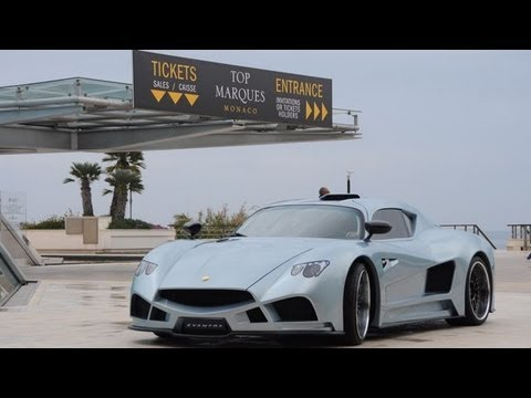 Mazzanti Evantra V8 World Debut