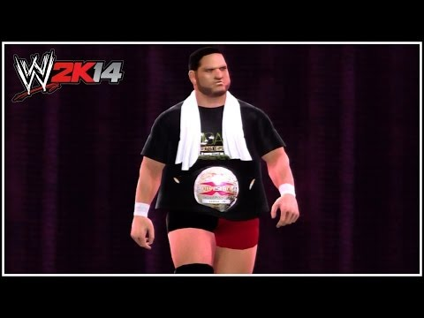 WWE 2K14 - Samoa Joe As The Classic TNA X-Division Champion (Samoa Joe To NXT Universe Mode?!)