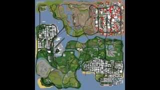 Mapas De Ropa, Novias, Etc Del GTA San Andreas Y Vice City