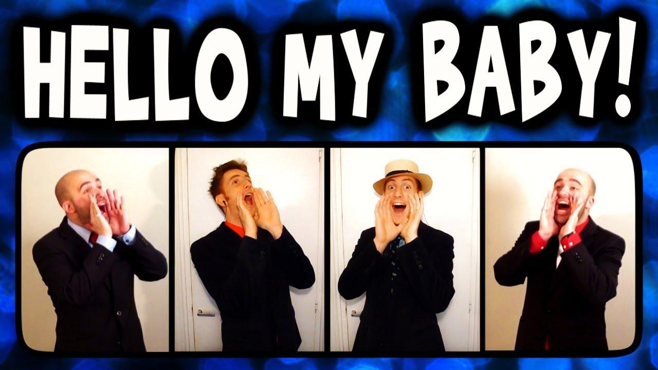 Hello My Baby (Frog Song) - A Cappella Barbershop Quartet (Trudbol ...