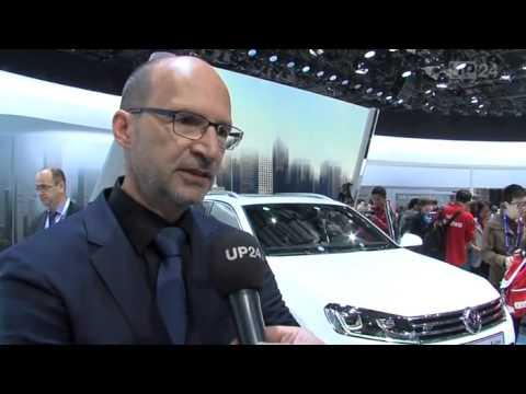 Peking 2014: VW Touareg feiert Weltpremiere