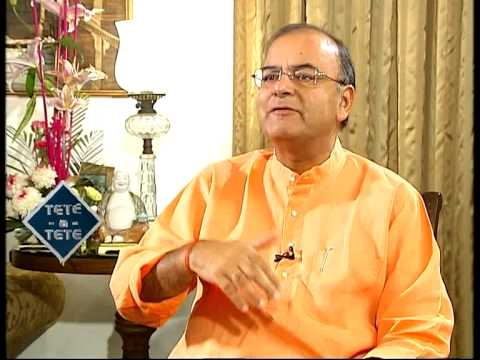 Tete-A-Tete with Arun Jaitley (Part-2)