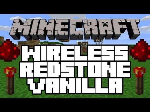 Minecraft 1.4.7 | Wireless Redstone Vanilla | NO MODS! (TUTORIAL) (WORKS ON XBOX)