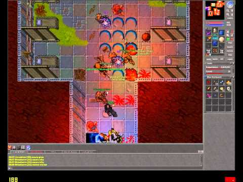Tibia Pk Obsidia 2012 Part 2, 1080P + Fullscreen Tibia Player Killing