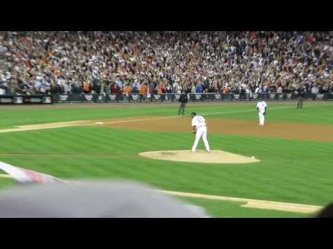 Detroit Tigers Pitcher Joaquin Benoit Throws Final Strike In Game 4 ALDS Win