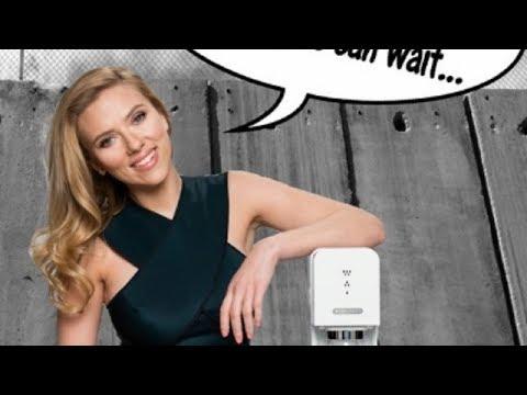 Scarlett Johansson's Shameful Shilling for Sodastream