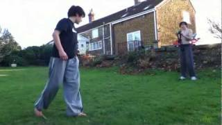 12 Year Old Parkour Freerunning Tricking