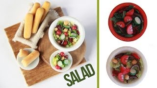Salads How To Make A Miniature Salad Tomatoe