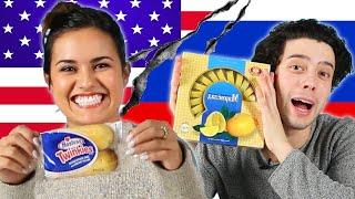 Americans & Russians Swap Snacks