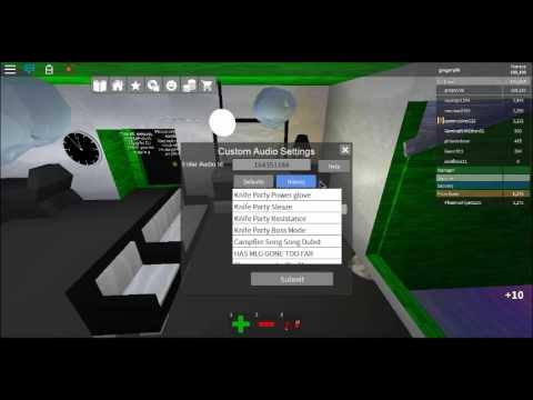how to create roblox song id