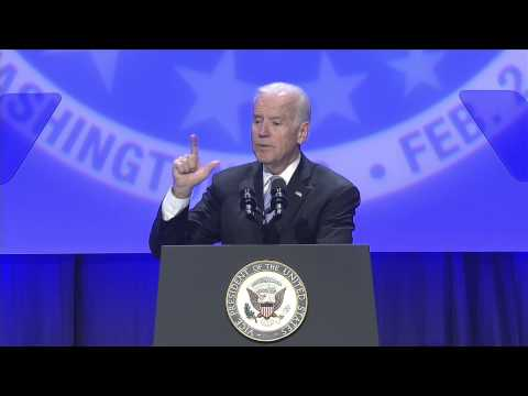 Vice President Joe Biden Addressed UAW at CAP in DC