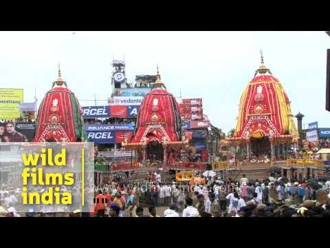 The Jagannath Rath Yatra took place today!