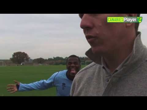 FUNNY Seb Bassong Video-Bombs Academy Boss