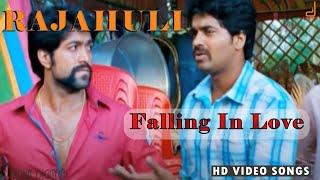 Rajahuli Falling In Love Full Song Video Yash