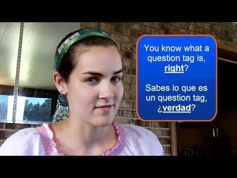 El Question Tag, Right - Verdad
