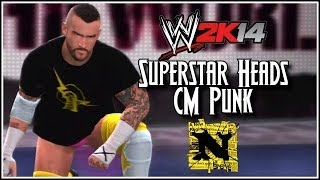WWE 2K14: Superstar Heads CM Punk, New NEXUS Macho Man