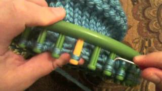 How To Decrease The Crown On An Adult Loom Knit Hat
