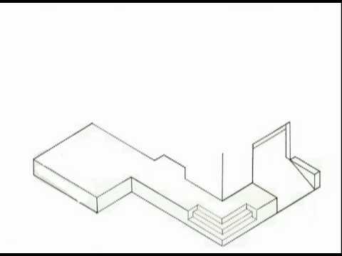 Como dibujar una casa stop youtube for Casas para dibujar