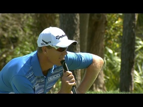 John Senden holes 32-foot putt at Valspar