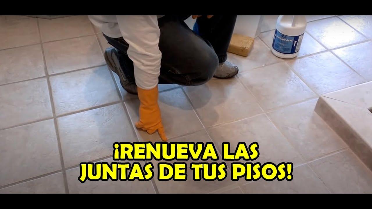 Como limpiar pisos de losas de ceramica o porcelana youtube - Como limpiar los azulejos de la cocina muy sucios ...