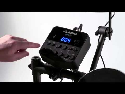 How To Use The Alesis DM Lite Eight Piece Portable Drum Kit (Maplin N50DD)
