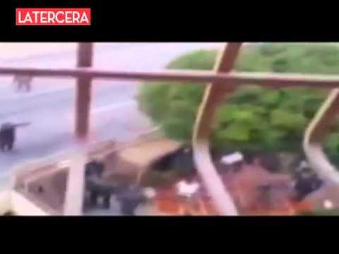 Revelan impactantes imágenes de la violencia policial en Venezuela post elección