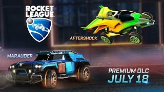 Rocket League - Aftershock és Marauder Trailer