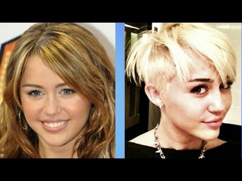 Miley Cyrus' Haircut Turns Heads, Generates Buzz Online, The singer and actress is turning heads with her edgy new look.