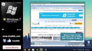 Descargar Windows 7 SP1 TEU Con Actualizaciones IE11